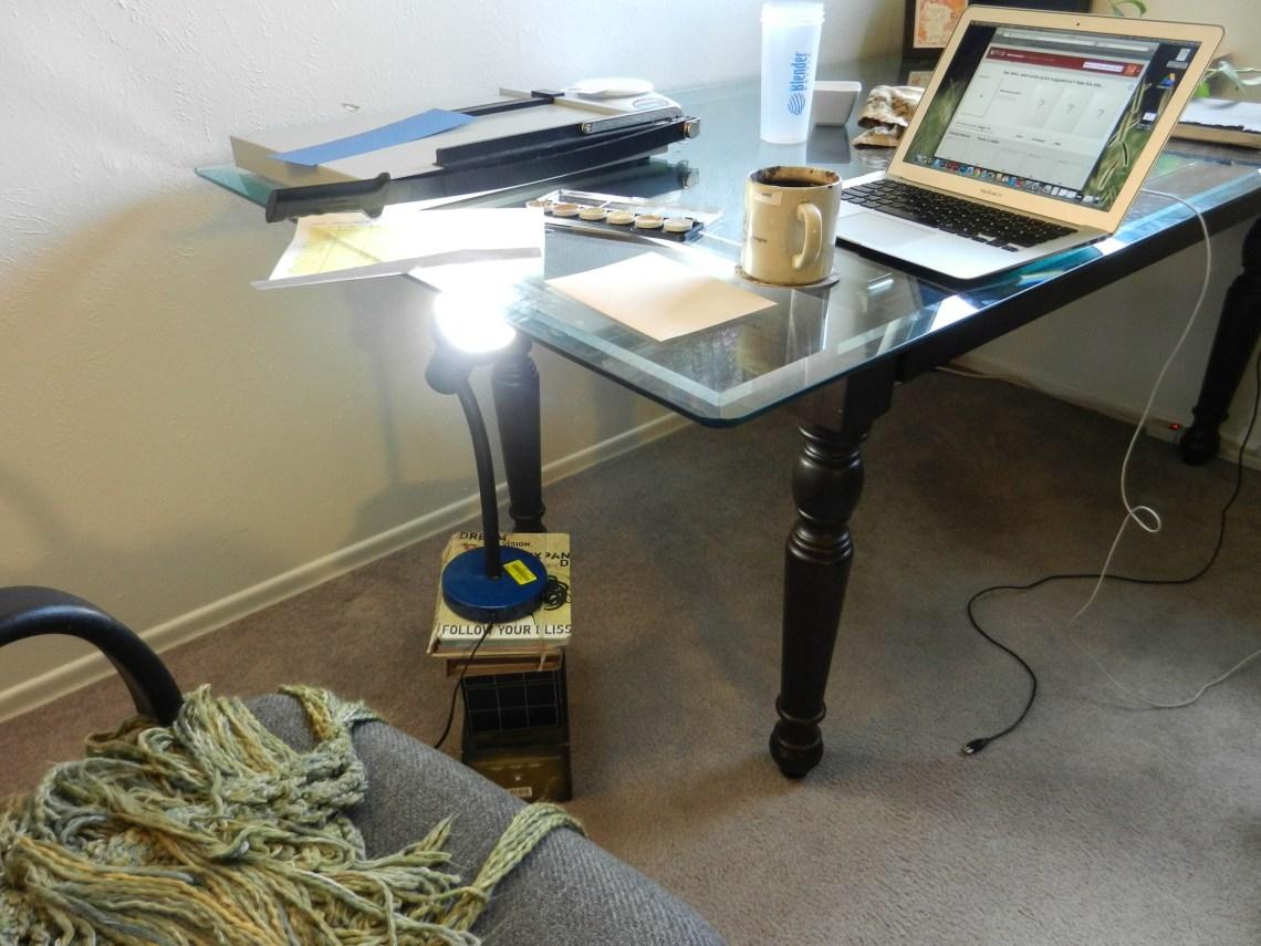 DIY Light Box | The Postman's Knock