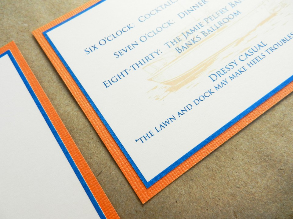 Invitation Mock-Up | The Postman's Knock