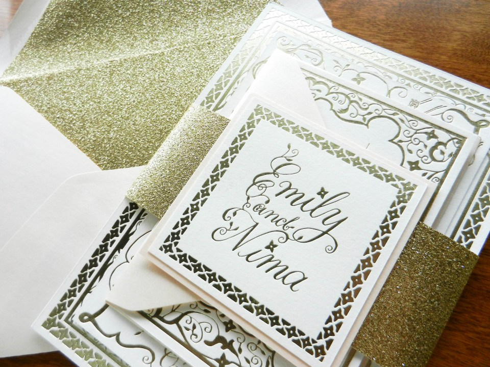 Foil Stamped Invitation Suite | The Postman's Knock
