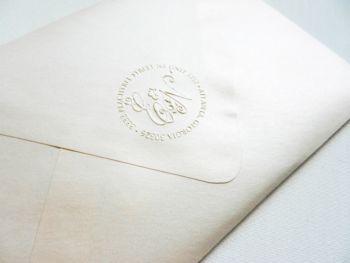 Persian-Inspired Gold Foil Wedding Invitation Suite | The Postman's Knock