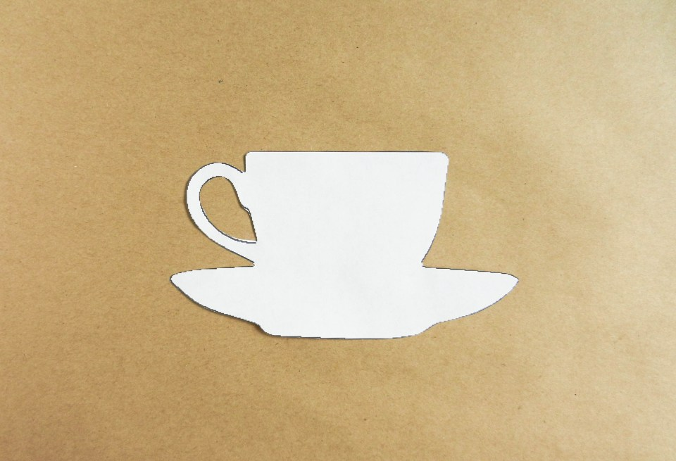 Teacup Template | The Postman's Knock