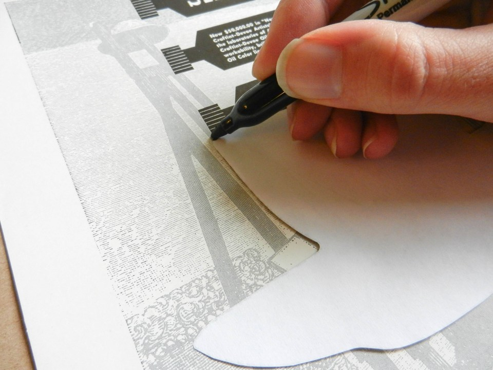Tracing the Teacup Template | The Postman's Knock