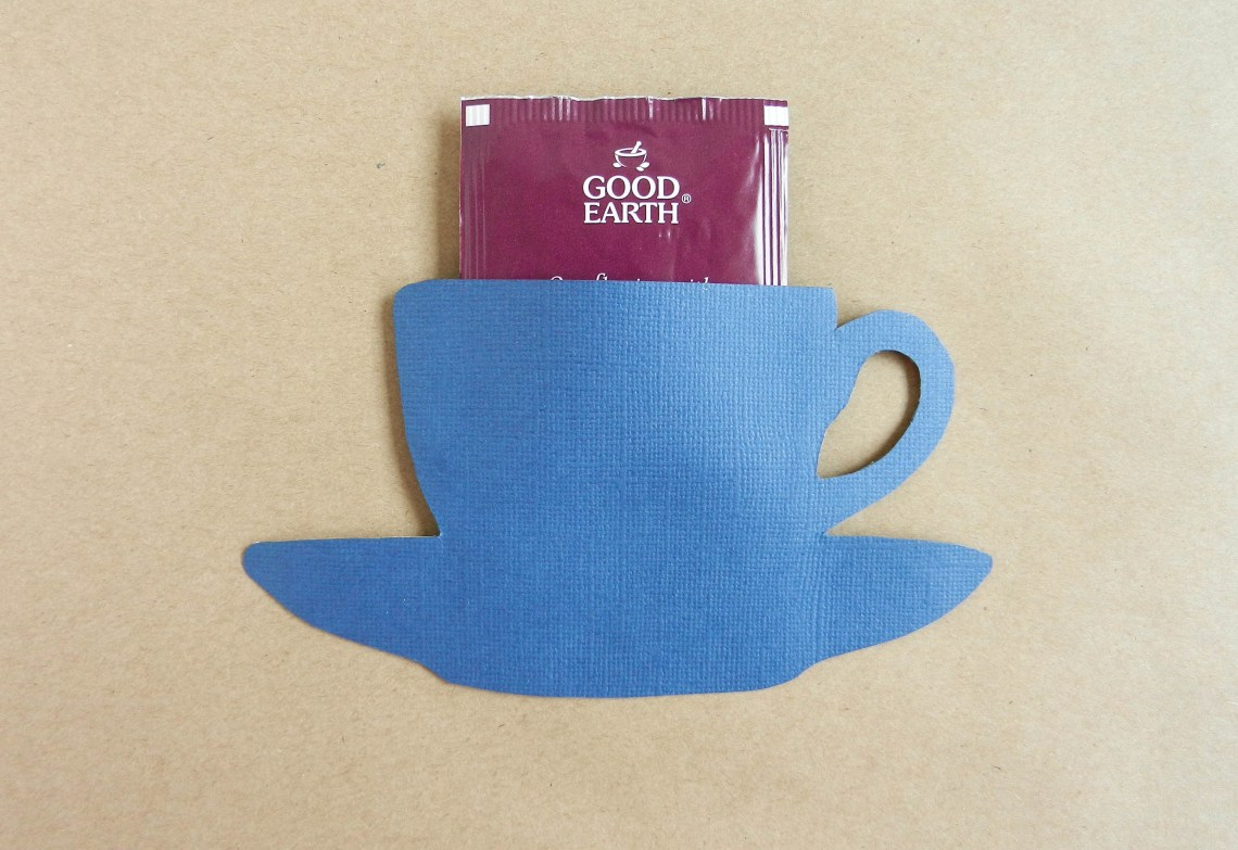 Paper Teacup Tea Bag Holder | The Postman's Knock