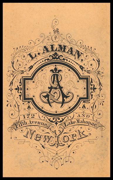 Vintage Alman & Company Logo | The Postman's Knock