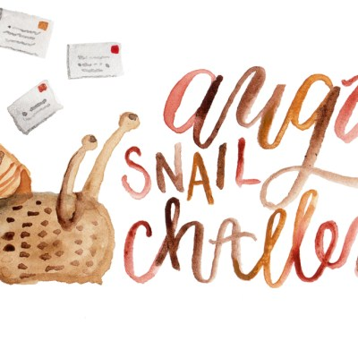 August Snail Mail Challenge