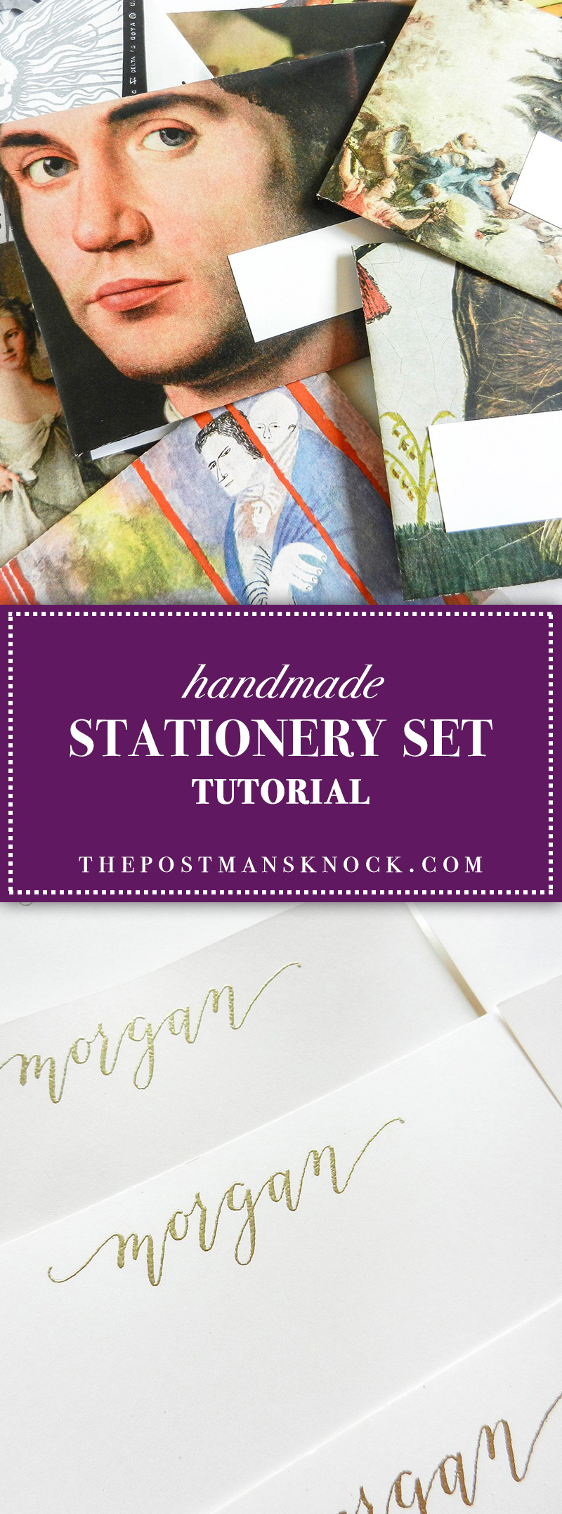 Handmade Stationery Set | The Postman's Knock
