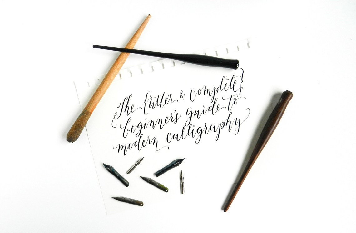 The Beginner 39 S Guide To Modern Calligraphy The Postman 39 S