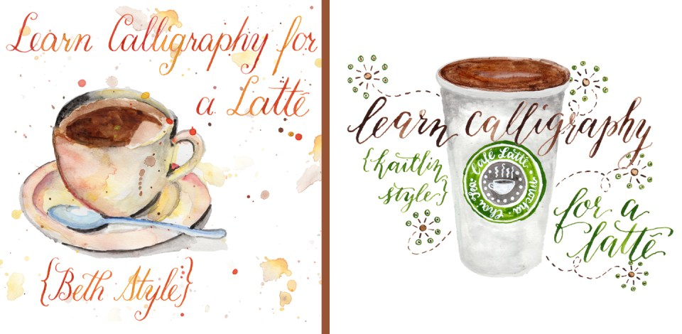 Learn Calligraphy for a Latté | The Postman's Knock
