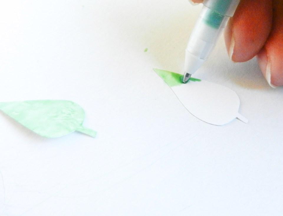 3D Leaf Card Tutorial   The Postman's Knock