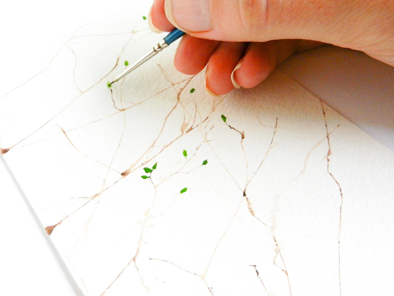 Simple Tree Art Tutorial   The Postman's Knock