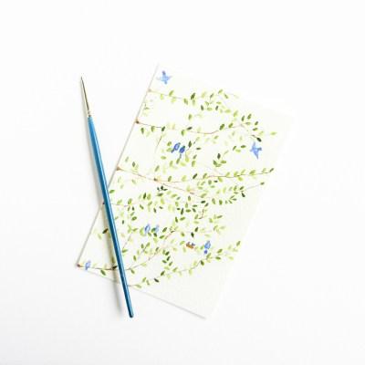 Simple Tree Art Tutorial