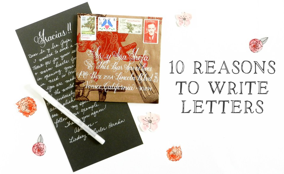 10 Reasons to Write Letters | The Postman's Knock