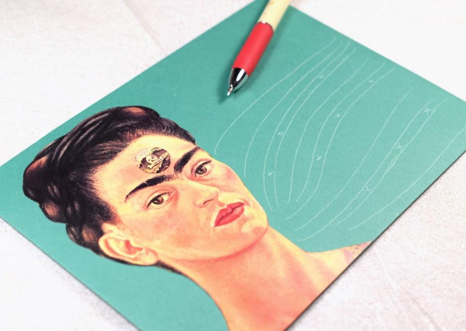 Frida Kahlo Envelope