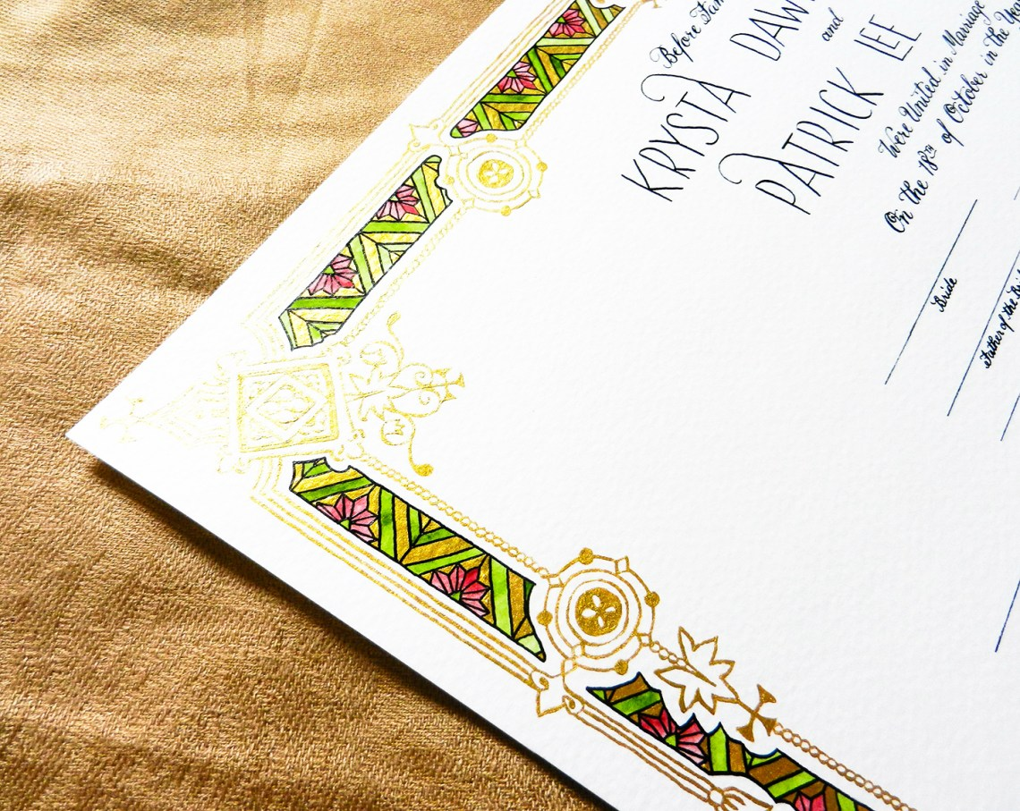 ... to Using Metallic and Gold Calligraphy Inks | The Postman's Knock
