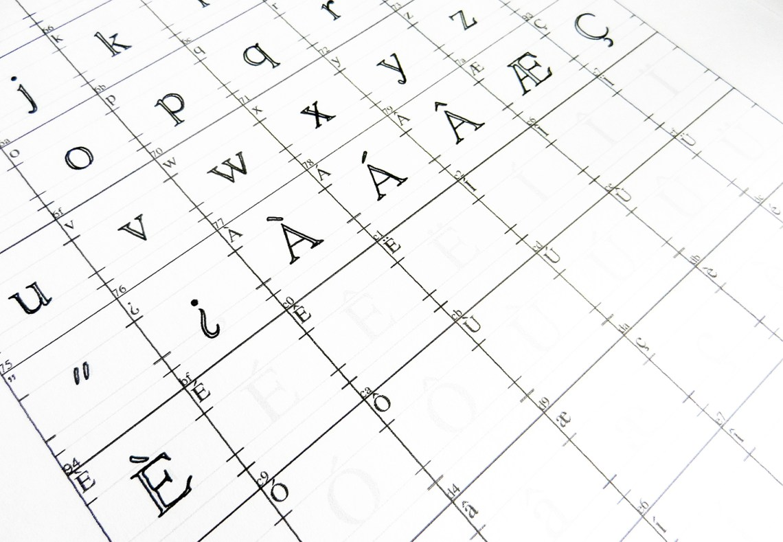 How to Make Your Own Font   The Postman's Knock
