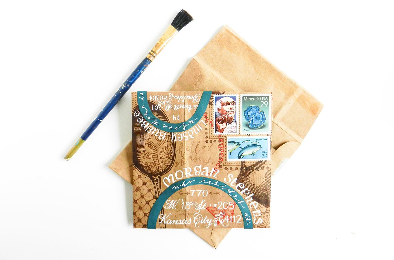 DIY Envelope Glue for Handmade Envelopes   The Postman's Knock