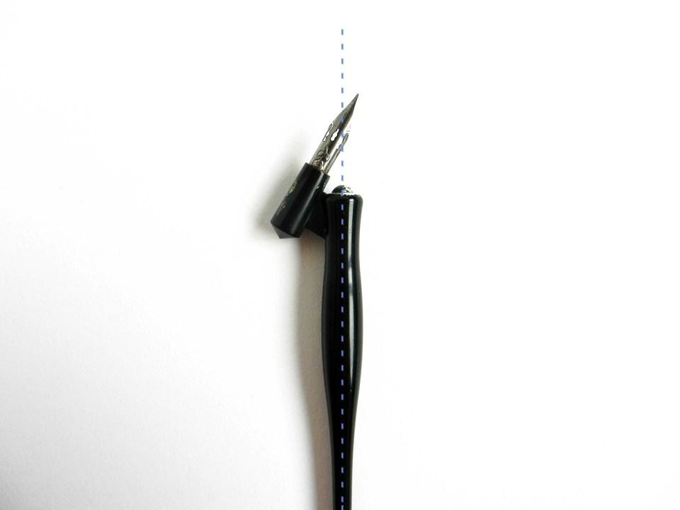 About Oblique Pen Holders | The Postman's Knock