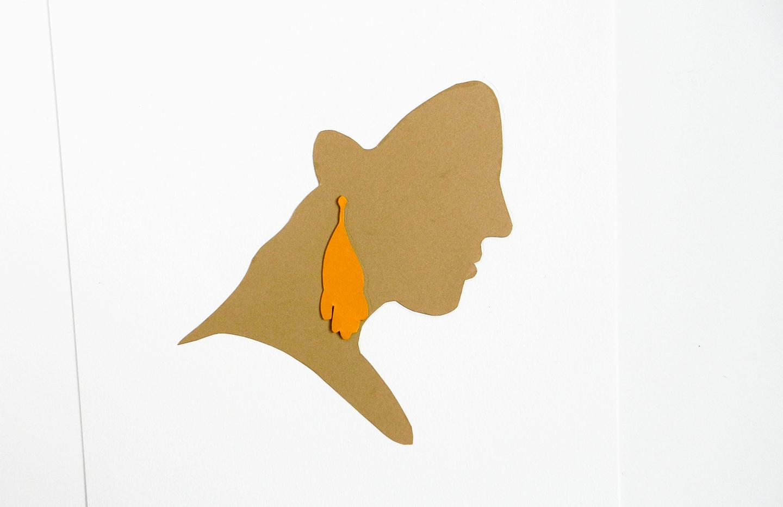 Paper Profile Silhouette Tutorial | The Postman's Knock