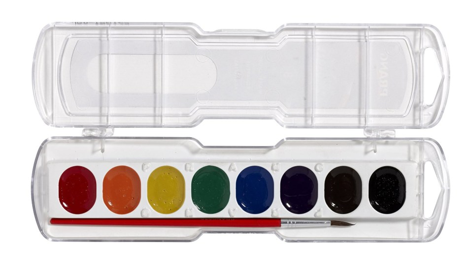 Prang Children's Watercolor Set | Amazon.com via The Postman's Knock