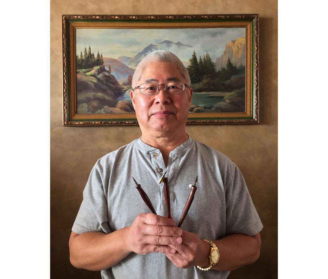 Rodger Mayeda with Artisan-Made Pens | The Postman's Knock