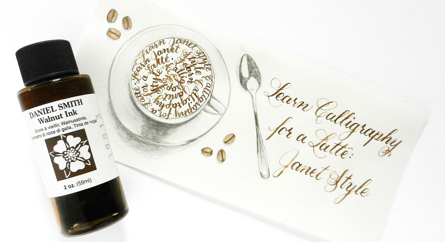 A Guide to Calligraphy Inks – The Postman's Knock