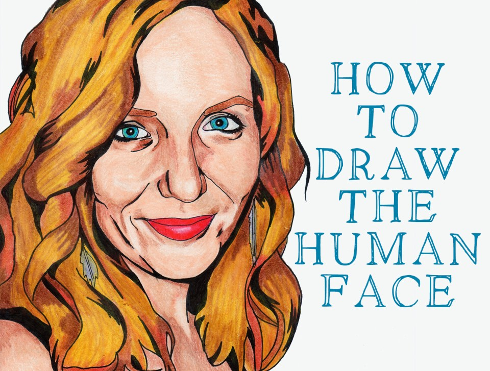 Free eGuide to Drawing the Human Face | The Postman's Knock