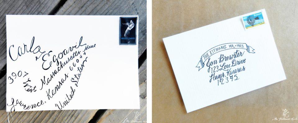 TPK Throwback Calligraphy | The Postman's Knock