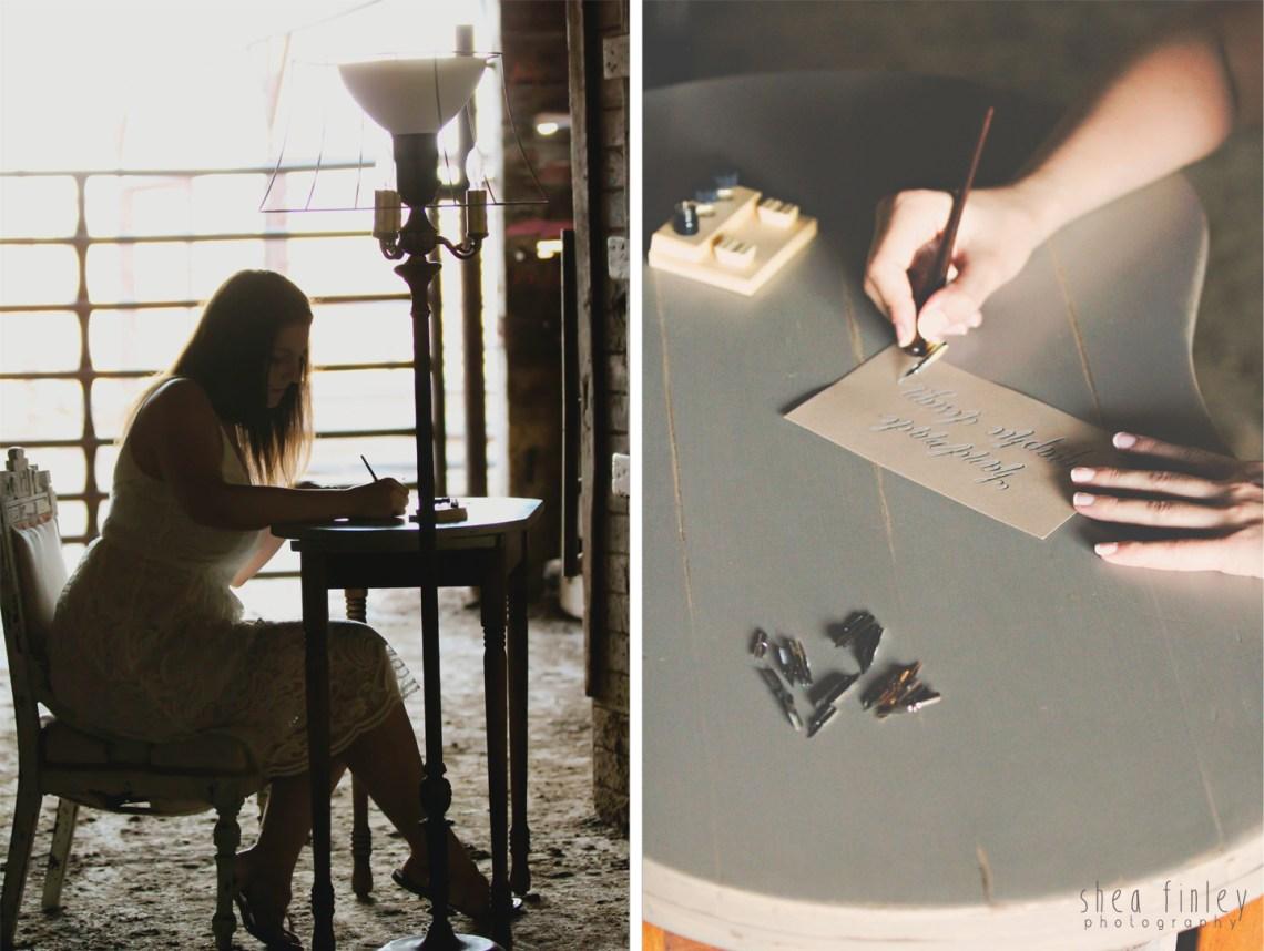 My Calligraphy Story   Lindsey Bugbee