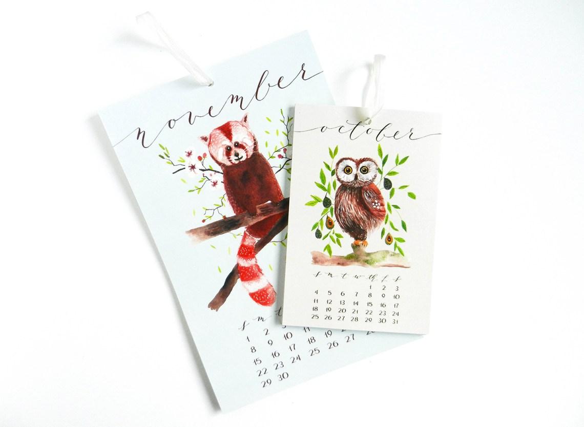 2015 Hanging Calendars | The Postman's Knock