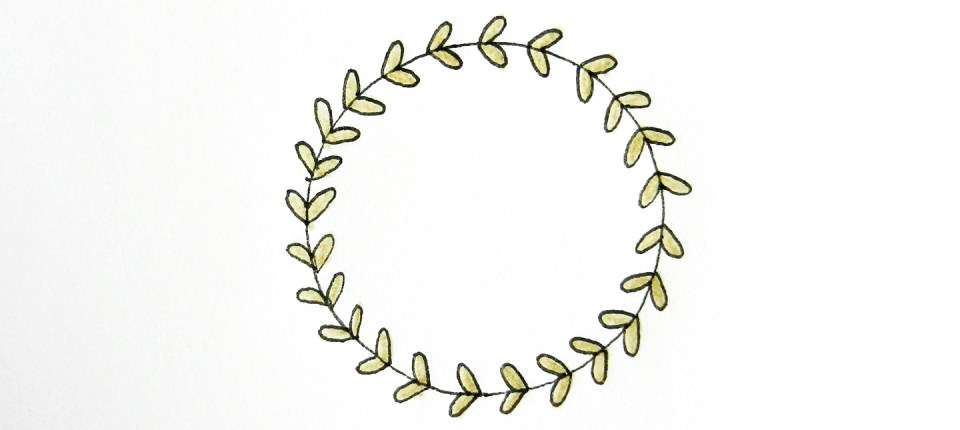 10 Ways To Draw Laurel Wreaths The Postman S Knock