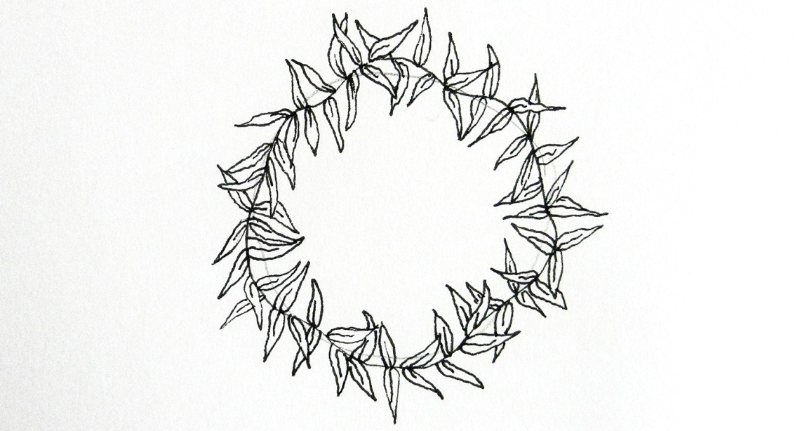 10 Ways To Draw Laurel Wreaths