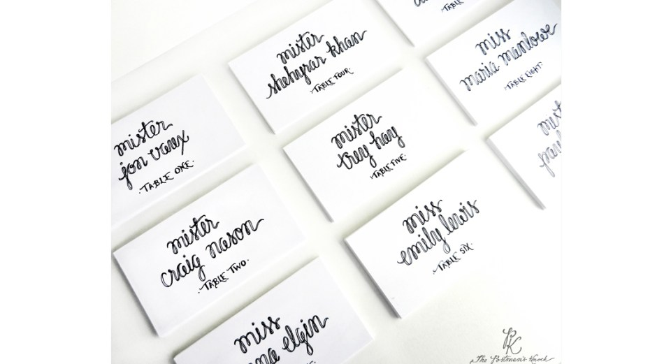 How I Learned Calligraphy | The Postman's Knock