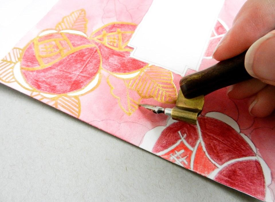 Art Deco Envelope Art Tutorial | The Postman's Knock