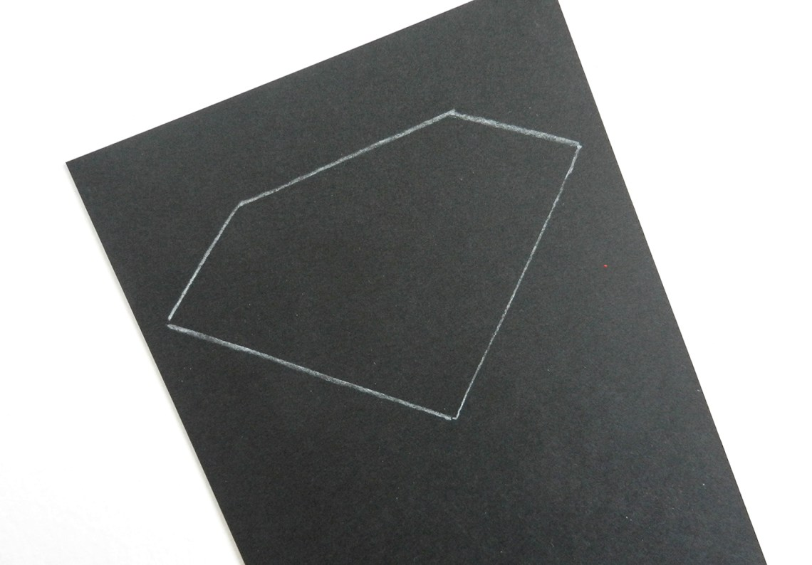Drawing on Black Paper | The Postman's Knock