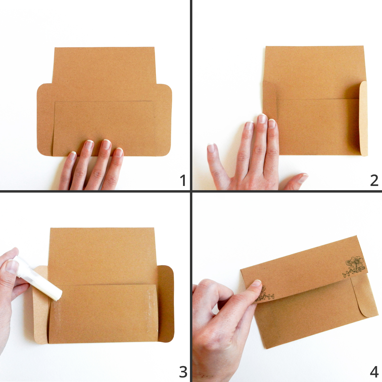 Pen & Ink Printable Envelope Templates   The Postman's Knock