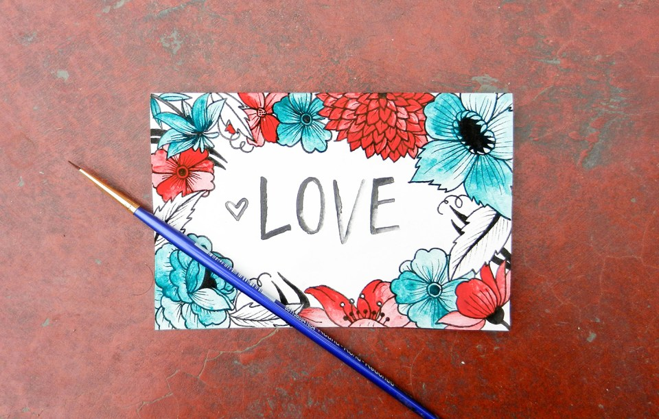 Printable Valentine's Day Card and Envelope | The Postman's Knock