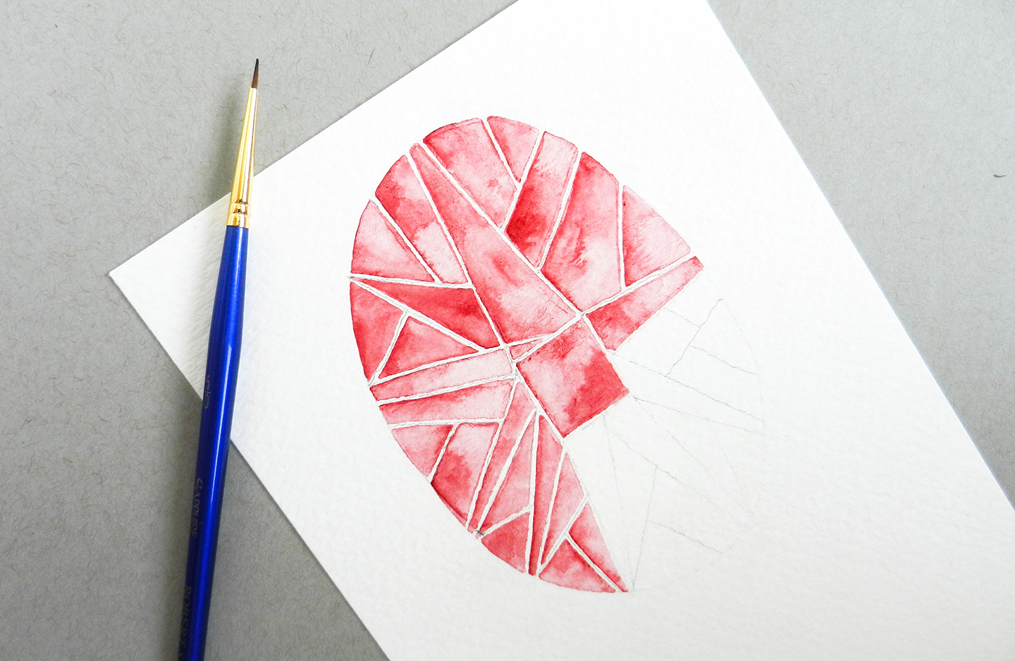 How to Paint Watercolor Jewels   The Postman's Knock
