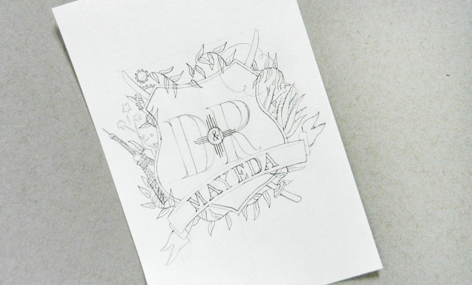 Hand-Lettering + How to Make a Coat of Arms | The Postman's Knock
