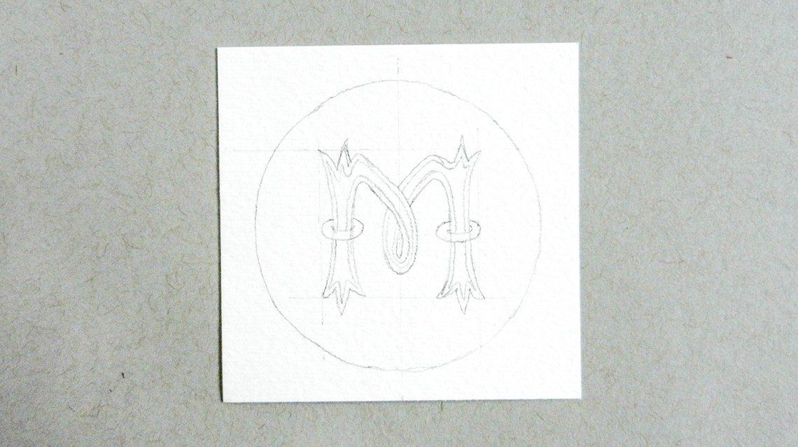 Hand-Lettering + How to Make a Coat of Arms   The Postman's Knock