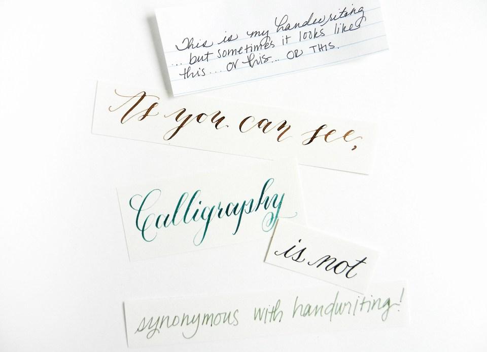 Eight modern calligraphy myths the postman s knock