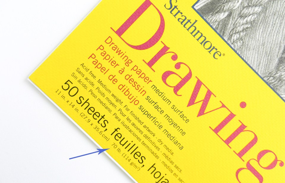 Strathmore Drawing Paper | The Postman's Knock