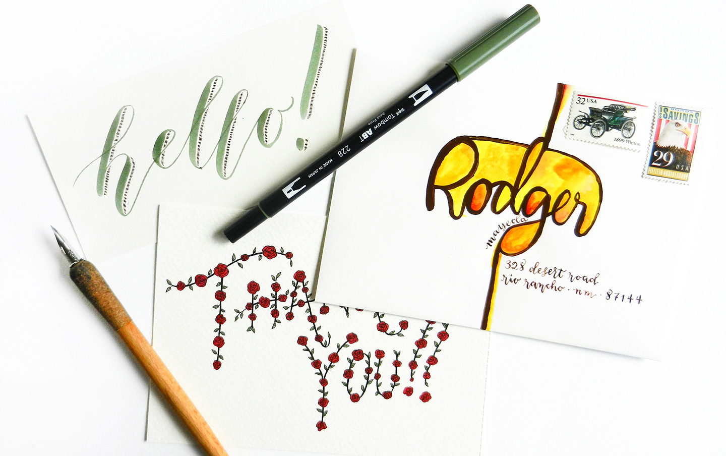 hand lettering tutorial creative lettering tutorials part i the postman 39 s 22076 | creative hand lettering feat38 of 40