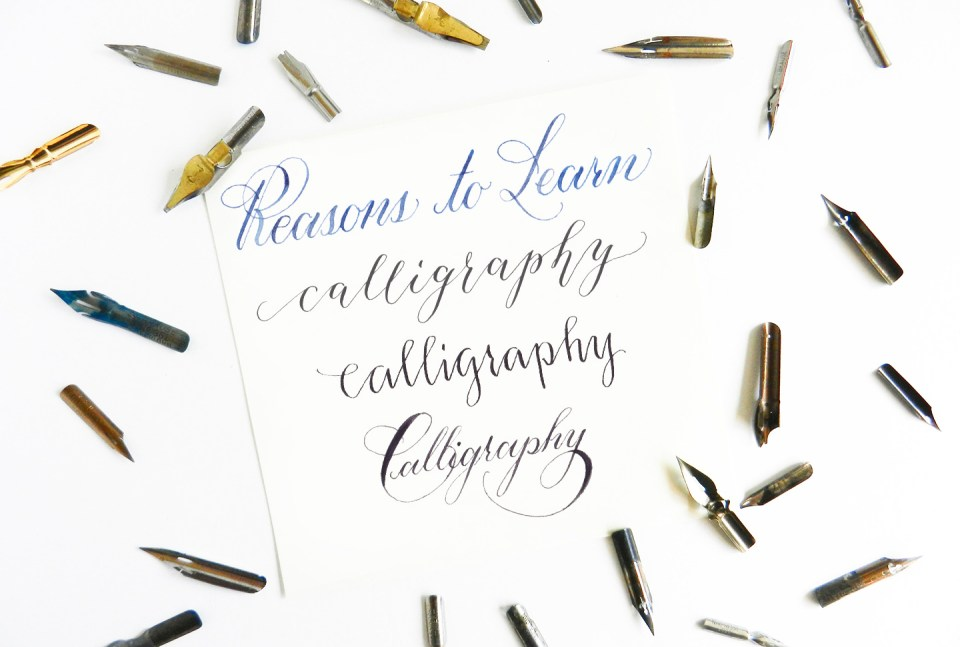 Seven reasons to learn calligraphy the postman 39 s knock Where to learn calligraphy