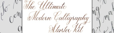 The Ultimate Modern Calligraphy Starter Kit | The Postman's Knock