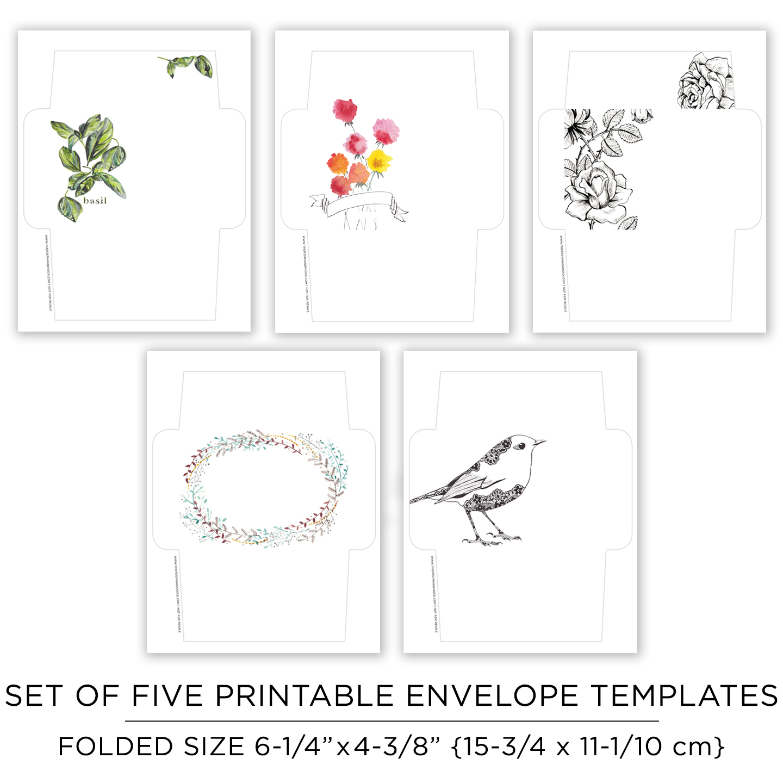 picture regarding Printable Envelopes Templates known as Printable Send out Artwork Envelope Templates