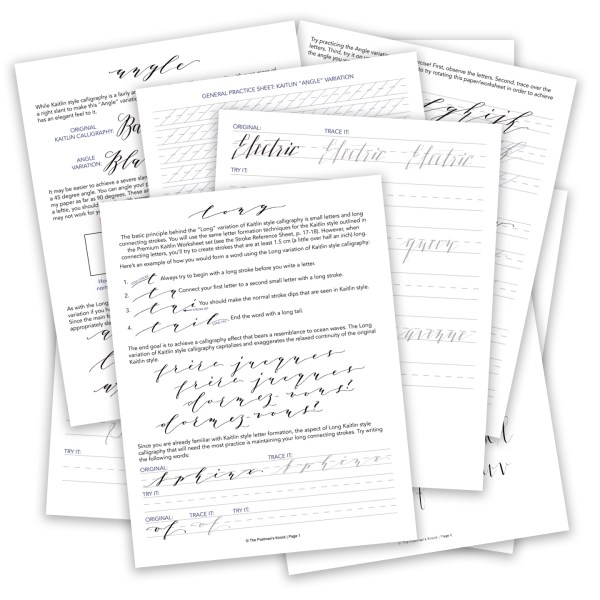Premium kaitlin worksheet add on style variations