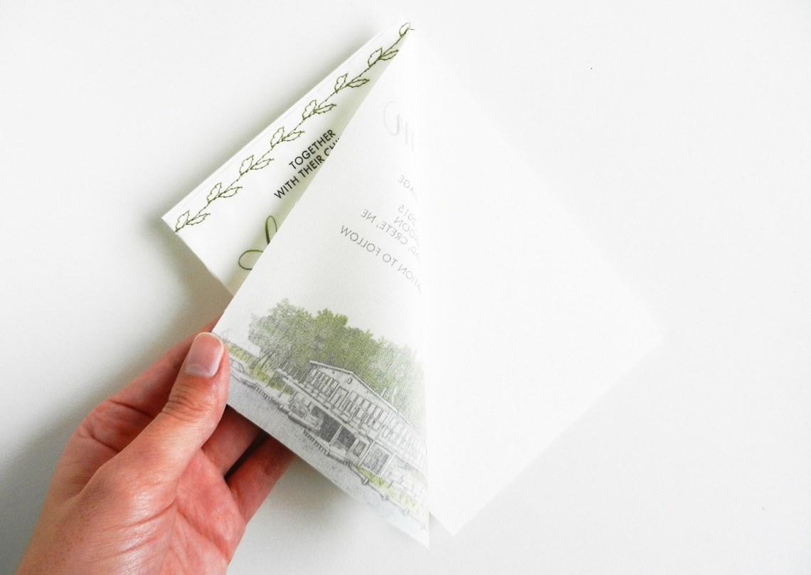 Fabric Wedding Invitations: DIY Fabric Wedding Invitations Tutorial