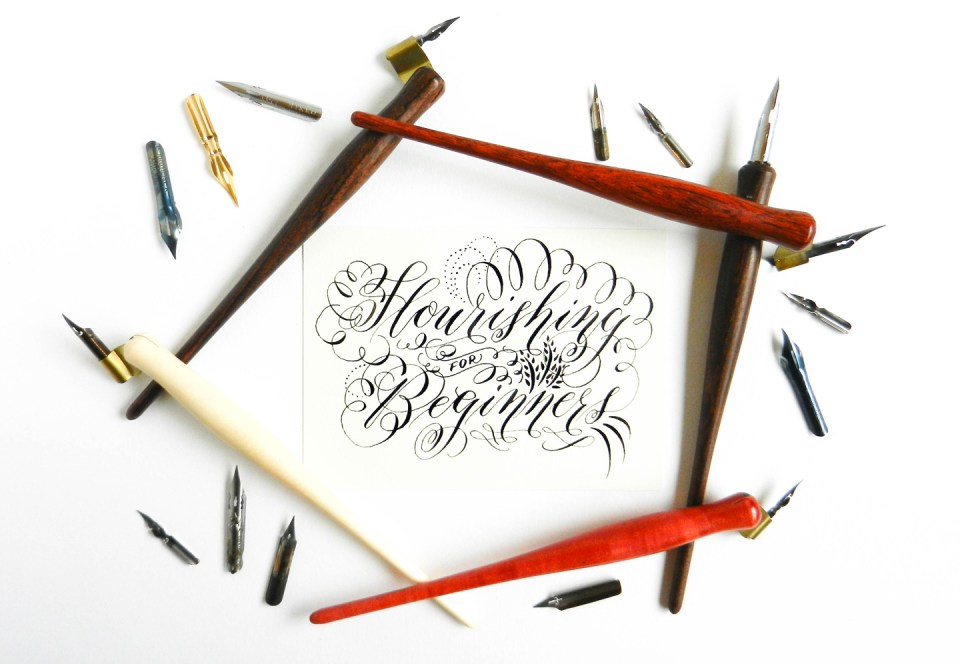 Calligraphy Flourishing for Beginners | The Postman's Knock