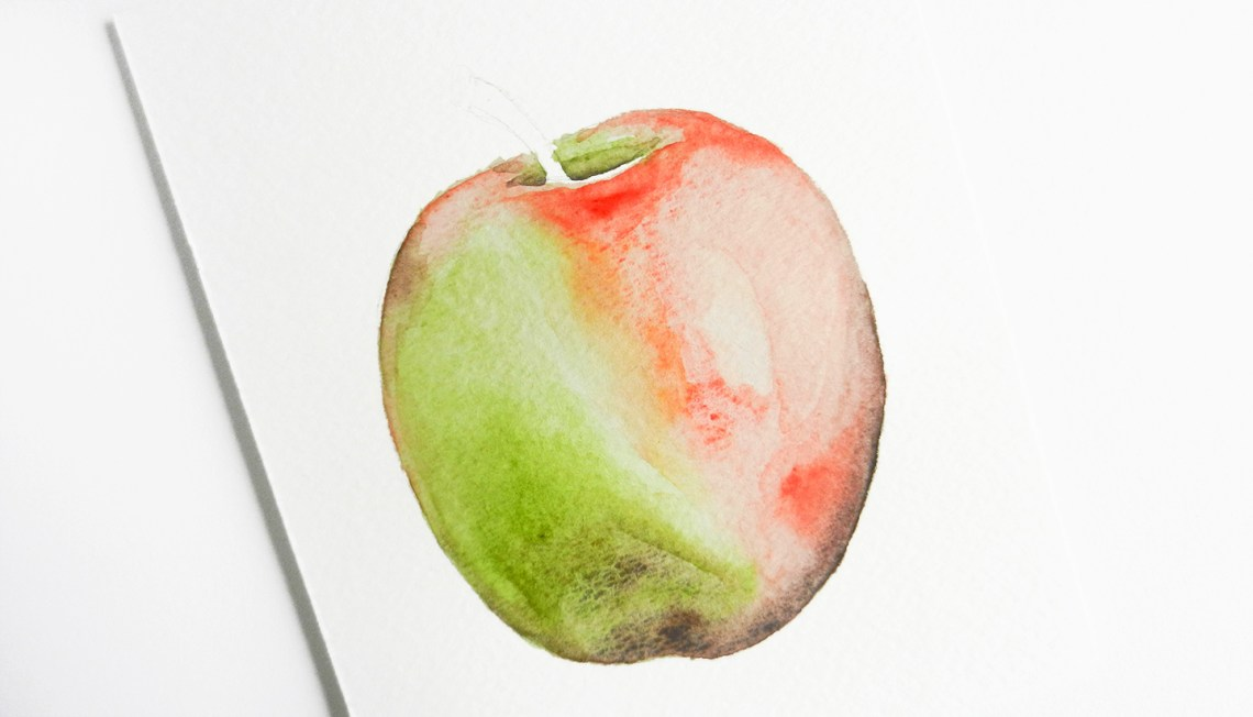Painting with Watercolors for Beginners Part II   The Postman's Knock
