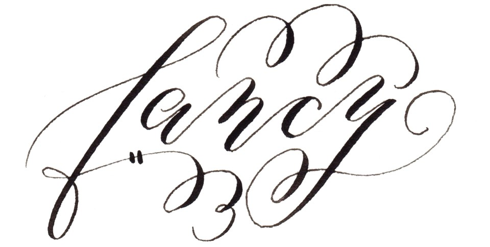 Calligraphy Flourishing For Beginners